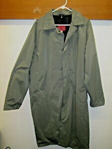 Excellent état Utilisé! Koolah Emphatex Microbreathe Manhattan Manteau De Pluie Foul Weather Jacket Sz L/g-afficher Le Titre D'origine
