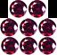LOS-PURPUR-KIRSCH-ROT-NATUR-DIAMANTEN-2-30-mm-RUND-0-05-CT-LOSE-VVS1 Indexbild 1