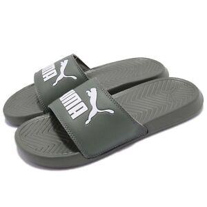 c0722f0bd8be51 Puma Popcat Castro Grey Men Women Sandal Slippers Slides 360265-24 ...