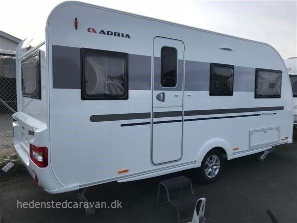 Adria Adora 482 LU, kg egenvægt 1175, kg totalvægt 1500