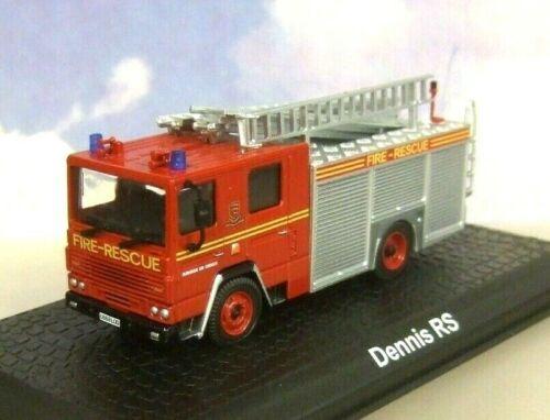 ATLAS//OXFORD 1//76 DENNIS RS PUMP LADDER ENGINE ESSEX FIRE /& RESCUE SERVICE