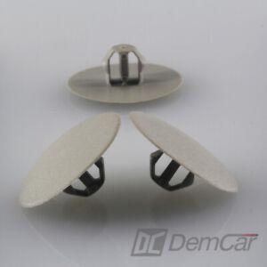 10x-Capot-Isolation-Clip-de-Fixation-pour-Mitsubishi-Carisma-Pajero-Space-Grau