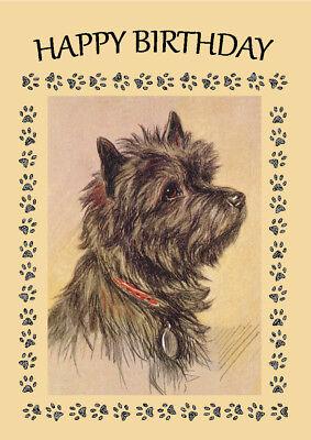 Skye Terrier Dog Keyring or Fridge Magnet Novelty Gifts