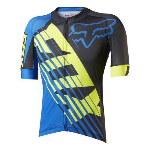 Fox Le Savant Xc De Montaña Mtb Ciclismo Camiseta Zipp completa tamaño mediano NUEVO