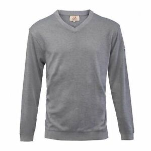Woodworm-Long-Sleeve-Golf-Sweater-Grey