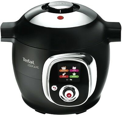 NEW Tefal CY7018 Cook4Me 6L Pressure Cooker