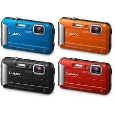 "Panasonic Lumix DMC FT30 16.1mp 2.7"" Waterproof Digital Camera New Agsbeagle"