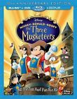 Mickey Donald Goofy Three Musketeers 10th Anniv BLURAY