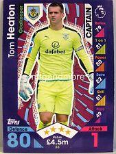 Match coronó 2016/17 Premier League - #038 Tom heaton-Burnley FC