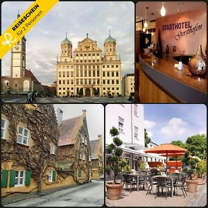 3-Tage-2P-4-Hotel-Gersthofen-Augsburg-Kurzurlaub-Hotelgutschein-Wochenende-City