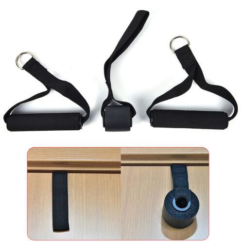Door Anchor D-Handle Indoor Resistance Bands Muscle Training Exercise Equipment
