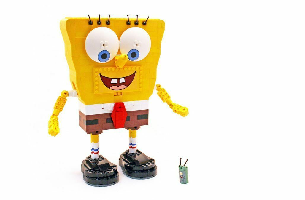 Lego SpongeBob Build - A - Bob 3826  ohne OBA u. ohne Box