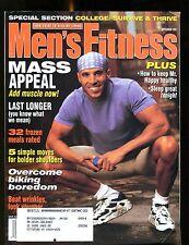 Men's Fitness Magazine September 1996 Mass Appeal EX w/ML 012417jhe