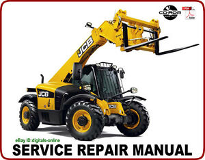 Details about JCB 528-70 528S Telescopic Handler Service Repair Manual on