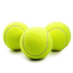 3 Pack De Haute Qualité Standard Balles De Tennis Sports Et Jeux-afficher Le Titre D'origine