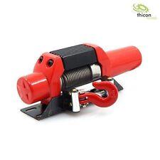 Thicon Models 1:10 / 1:14 Seilwinde aus Metall rot mit Stahlseil - 20053