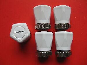 5-Heimeier-Regolazione-Lancetta-Cap-Elemento-Sensore-Testa-Termostato