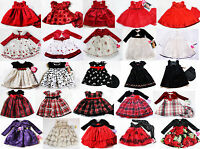 Girls Dress Holiday Xmas Birthday Party Wedding Easter 3 6 9 24m 2t 3t 4