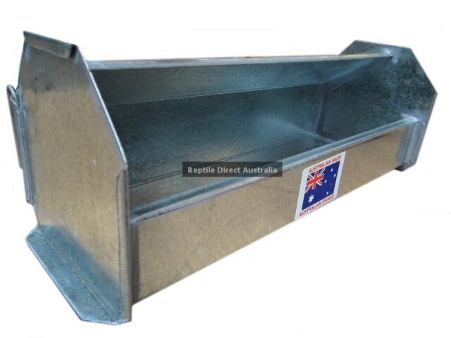 AVF-588 Feed or Water Tray 30cm Bird Chicken Coop Chook Poultry Trough Hopper