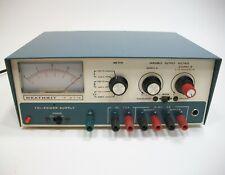 Vintage Heathkit Heath Kit 2718 Tri Power Supply 0 20 Volts 05 Amps 5 Volt 15a