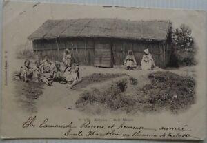 Algeria-Cartolina-Kabylie-cafe-Moro-Bon-Stato-1904