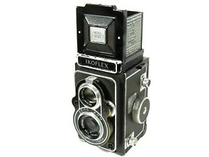 Camera-ZEISS-IKON-IKOFLEX-6x6-the-superb-Zeiss-opton-tessar-034-T-034-Red-Syncro-COMPUR