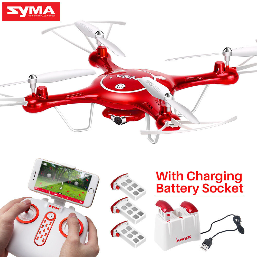Syma X5UW RC Drone Quadcopter with 720P Camera FPV Wifi 2.4G Gyro Headless Hover