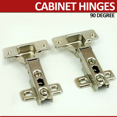 2X KITCHEN DOOR CABINET CUPBOARD STANDARD CONCEALED SPRUNG HINGES 35 mm  ITALIAN | eBay