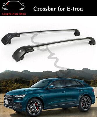 Fits for Audi E-tron Etron 2019 2020 Crossbar Cross bar Roof Rack Rail Carrier