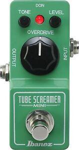 IBANEZ-Tubescreamer-Mini-TSMINI-Gitarren-Effektgeraet-Verzerrer