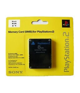 Sony-PlayStation-2-PS2-Memory-Card-8MB-BRAND-NEW-amp-FACTORY-SEALED