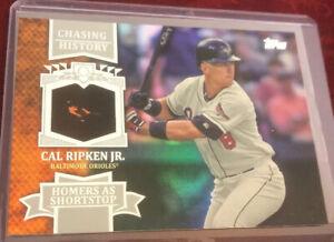 Cal-Ripken-Jr-2013-Topps-Chasing-History-CH-57-Baltimore-Orioles-MLB-HOF-er