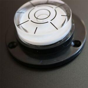 Dosenlibelle-Geflanschte-Grosse-runde-Wasserwaage-Luftblase-Werkzeug-fuer-Uhren