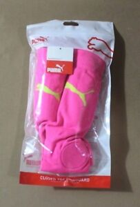 Puma Soccer Closed Toe Removable Shinguard Sock combo Youth XS//S Pink NEW