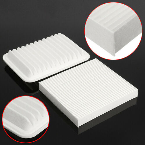 Combo Set Engine /& Cabin Air Filter Assembly For Toyota Corolla 2009-2017 White