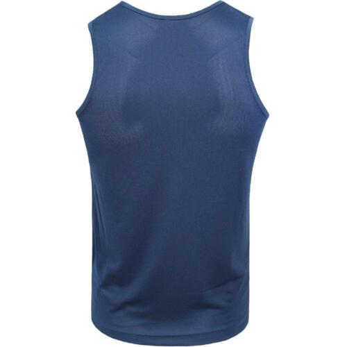 Mens Sports Vest Work Out Gym Active Running Top Casual Summer Breathable Tee