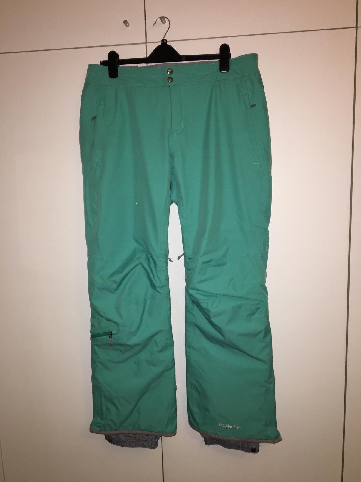 Green Women's Ski Trousers - Columbia - XL