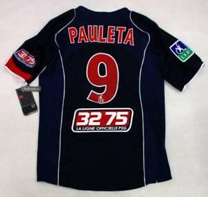 Pauleta Maillot PSG Paris Saint-Germain jersey nike shirt vintage 2004 2005 S