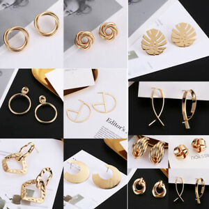 knoten-einfache-geometrische-ear-ring-ohr-hengst-ohrringe-baumeln-lassen