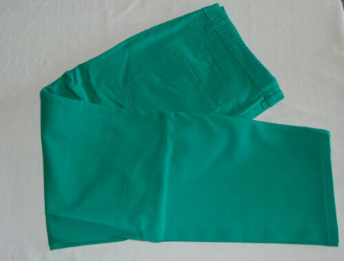 Größen Hochwertige Stretch-Hose blau-grün in versch
