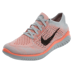 be444594d9a0c Nike Women s Free RN Flyknit 2018- Crimson Pulse Pure Platinum ...