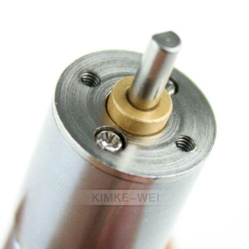 Modellbau Getriebemotor 6V 30 U//min Gleichstrommotor