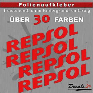 4er-SET-REPSOL-Sponsoren-Folienaufkleber-Auto-Motorrad-30-Farben-6cm