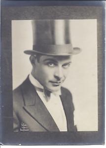 Foto Baron La Panouille, Earle Foxe Schauspieler Komiker 1914
