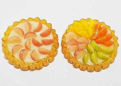 Doll Mini Tiny Sweet Food Cake Tart Bakery c11 Dollhouse Miniature Fruit Pie