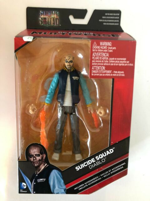 DC Comics Multiverse Suicide Squad Diablo Action Figure New