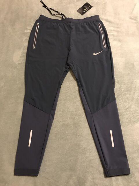 """Nike Flex Swift 27"""" Running Pants Dri-fit 857840 Blue Mens ..."""