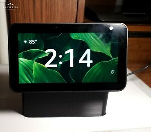 Amazon-echo-show-5-STAND-tilted-7-Degrees-3D-printed-Black