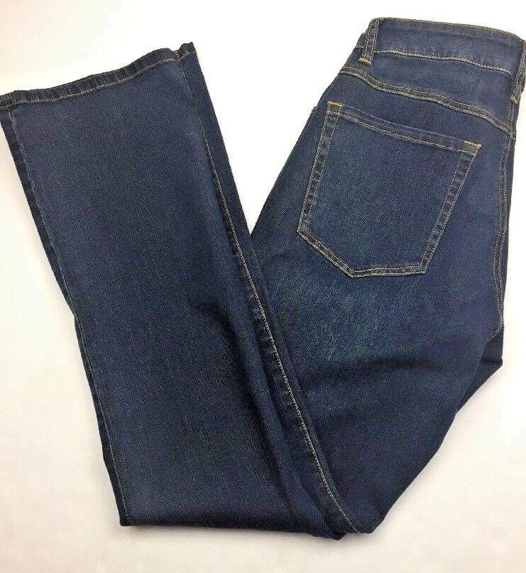 New Cabi Denim Jeans Size 6 Style 120 Galaxy Wash Curvy Slim Boot NWT