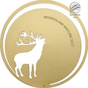 2017-500-Togrog-Mongolian-Nature-Roaring-Deer-Silver-Coin